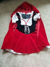 Little Red Riding Hood Womens Costume Halooween Size Medium
