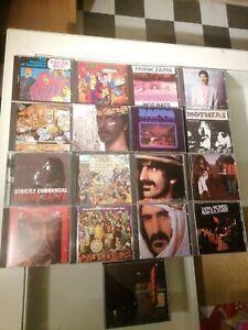 """Frank Zappa 17 CD Set / """"Joe's Garage I, II & III, Hot Rats,... """" / Top-Zustand"""