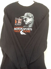 DALE EARNHARDT #3 2 sided long sleeve MOTORSPORTS HALL OF FAME T shirt sz 3XL