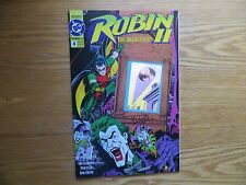 1991 DC ROBIN II THE JOKERS WILD #4 BAT SIGNAL HOLOGRAM SIGNED TOM LYLE WITH POA