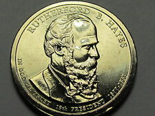 2011 P - Rutherford B. Hayes  One Dollar Presidential Coin