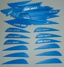 "100 Aae Max Stealth 2.7"" Blue Vanes arizona archery equipment arrow fletching"