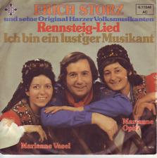 """""""7"""" - ERICH STORZ und seine HARZER VOLKSMUSIKANTEN - Rennsteig-Lied - PROMO !!!"""