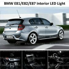 PREMIUM BMW E81 E82 E87 1 SERIES SALOON LED  INTERIOR UPGRADE KIT SET WHITE NEW