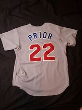 Chicago Cubs Mark Prior Majestic Road Large Jersey