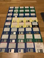 "💾 Commodore/Amiga  Joblot Bundle Approx 40 Used 3.5""  Floppy Disks"