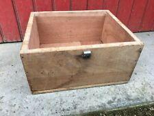 ancienne boite caisse atelier bois à détourner pour déco tendance