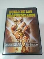 Duello IN Le Profondità Charlton Heston Kim Basinger DVD Slim Spagnolo Inglese