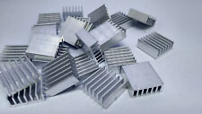 25xExtruded Aluminum heatsink 14x14x5.5mm Chip CPU GPU VGA RAM LED IC radiator,