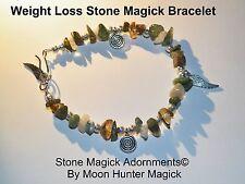 Weight Loss Spell Weight Management Stone Magick Bracelet Reiki Crystal Healing