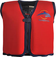 The Original Konfidence Jacket for Bouyancy Red Large 6-7 years