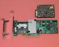 IBM M5015 / LSI 2108 SATA / SAS Controller RAID 5 512MB 6G +battery