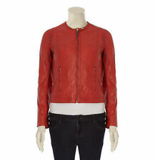 SIENNA DE LUCA Burnt Orange Leather Jacket BNWT