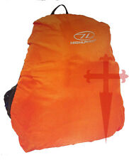 60 - 70 Litre High Visibility Orange Waterproof Rucksack / Daysack Bergen Cover