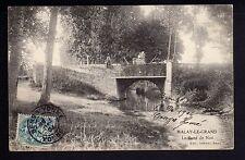 MALAY LE GRAND Yonne CPA 89 le pont de Noé