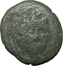 AMPHIPOLIS Ancient Rare Greek Coin GORGONEION ATHENA  NIKE 1stCentBC  i24079