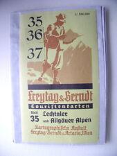 Landkarte 35 Freytag & Berndt Touristenkarten Lechtaler Allgäuer Alpen Lechtal