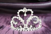 Beautiful Party Wedding Tiara Crown with Crystal Leaf