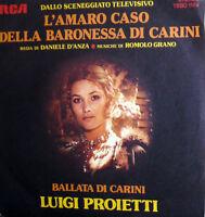 """OST L'AMARO CASO DELLA BARONESSA DI CARINI  7"""" R. GRANO - schola cantorum 1975"""