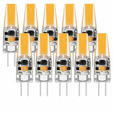 10X Mini G4 LED 3W 1505 COB Bulb Replace Halogen Lamp AC DC 12V Warm White