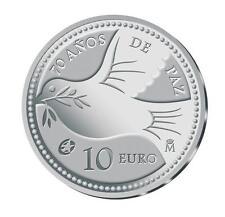 ESPAÑA: 10 euros plata 2015 proof 70 años de PAZ en Europa REY FELIPE VI Spain