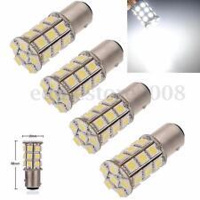 4x 1157 BAY15D 5050 LED 27 SMD Car Tail Stop Brake Light Bulb Lamp White 12V