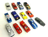 Lot of 13 Diecast Misc Cars Jada Tomica Maisto Johnny Lightning MA 1:64