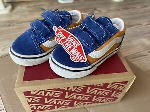 Vans Unisex Kinder Old Skool Shoe 18.5 Baby First Vans Off The Wall OVP