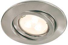 Paulmann Einbaudownlight, Metall, GU 10, silber, 920.26