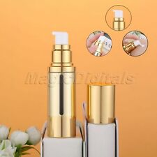 Travel Skincare Empty Portable 30ml Airless Bottle Cosmetic Treatment Pump Cover