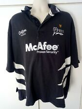 Sale Sharks Rugby Shirt 2006 2007 XXL 2XL Cotton Traders McAfee