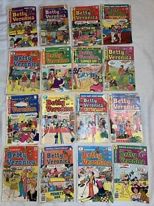 Archie Comics Betty And Veronica 16 Comic Lot
