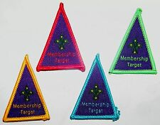 4 x Scout Membership Target Badges, Scouts Australia