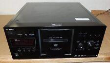SONY DVP-CX777ES DVD 400 DISC CHANGER  CD EXPLORER BLACK
