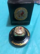 Springfield Cardinals Commemorative 10th Season ring SGA
