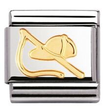 Nomination Charm Gold Riding Hat And Crop RRP £18