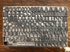 24pt Prisma letterpress lead type