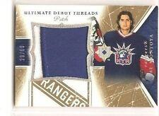 Al Montoya 2005-06 Upper Deck Ultimate Collection Debut Threads Patch 28/60