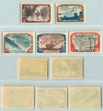 Russia USSR ☭ 1951 SC 1598 1600-1602 mint 1599 used . d6091