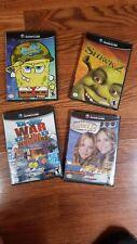 New listing Gamecube bundle of games - Shrek 2, SpongeBob, Tom and Jerry War, Sweet 16