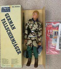 1984 Tsukuda Action Man German Fallschirmjager Palitoy GI Joe MIB