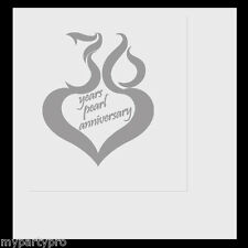 30th ANNIVERSARY MOD LUNCH NAPKINS Party Supplies FREE SHIPPING