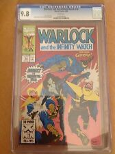 CGC 9.8 Warlock and the Infinity Watch #14 white pages Gamora