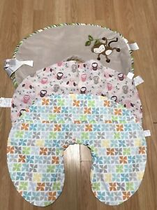 Lot of 3 Boppy Pillow Covers Only