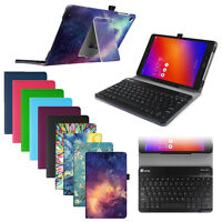 For Verizon Asus ZenPad Z10/ 3S 10 Folio Case Stand Cover + Detachable Keyboard