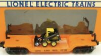 ✅LIONEL NEW HOLLAND SKID LOADER FLAT CAR 6-16958 CONSTRUCTION CAT CATERPILLAR