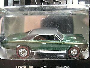 HOT WHEELS VHTF HILLS DEPARTMENT STORE SERIES 1967 PONTIAC GTO