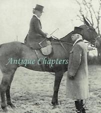 Duchess of Beaufort Hunt Luckington Capt Forestier-Walker 1913 Photo Article