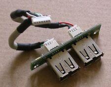 2x USB BOCCOLE scheda elettronica Board per Fujitsu Siemens Esprimo q5020 q5010