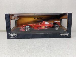 1/18 Mattel Hot Wheels F1- 2000 Ferrari F World Champion Schumacher 26737